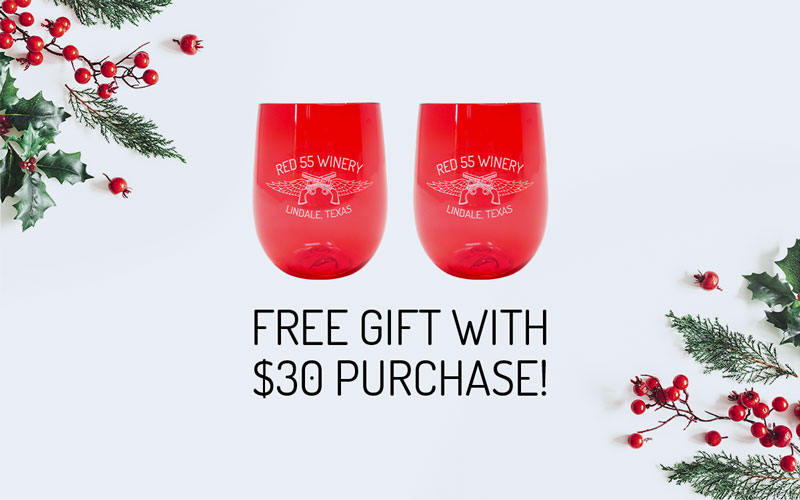 Free gift with $30 purchase